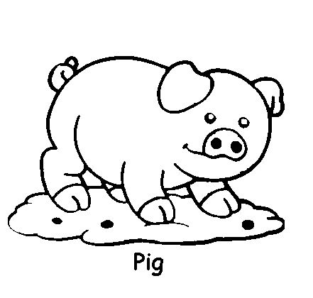 441x420 Childrens Animal Coloring Pages Toddler Coloring Pages Animals