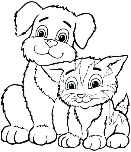 434x500 Animal Coloring Pages Coloring Collection Animal Coloring Pages