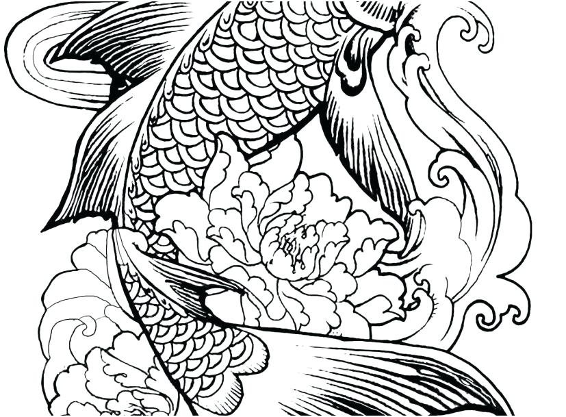 827x609 Complicated Animal Coloring Pages Deepart