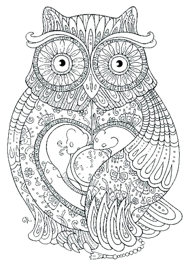 615x863 Hard Animal Coloring Pages