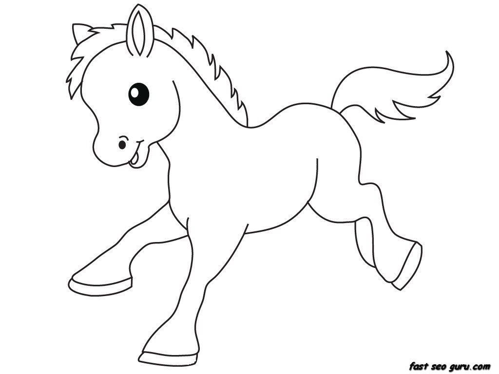 1024x768 Printable Baby Animals Coloring Pages Free Coloring Pages Download