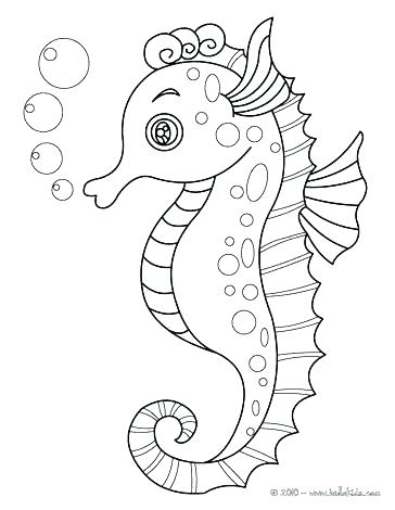 364x470 Underwater Animals Coloring Pages Sea Animals Coloring Pages Cute