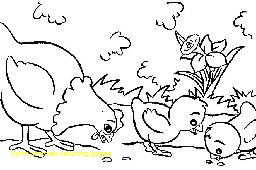 874x581 Animal Coloring Pages To Print Farm Animals Coloring Pages