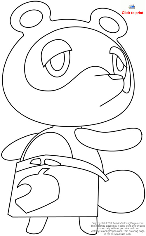 500x808 Animal Crossing Coloring Pages Google Search Colouring