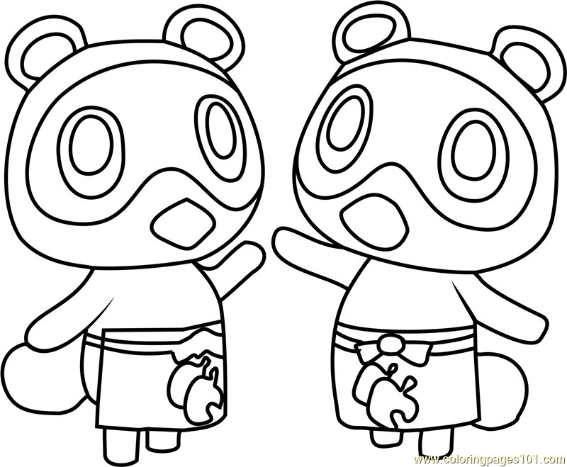 800x659 Animal Crossing Coloring Pages Interesting Good Animal Crossing