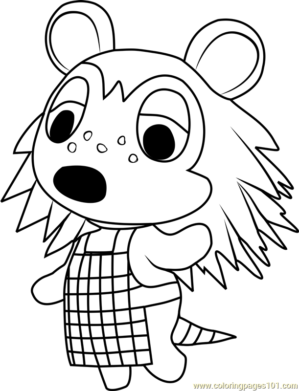 Animal Crossing Coloring Pages at GetDrawings | Free download