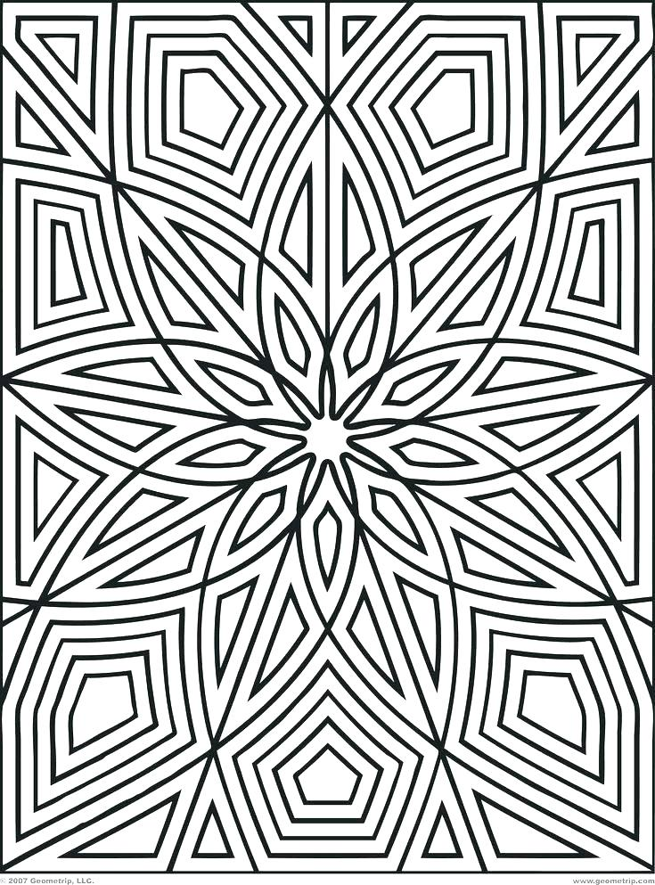 735x993 Coloring Design Pages Coloring Pages Of Designs Coloring Design