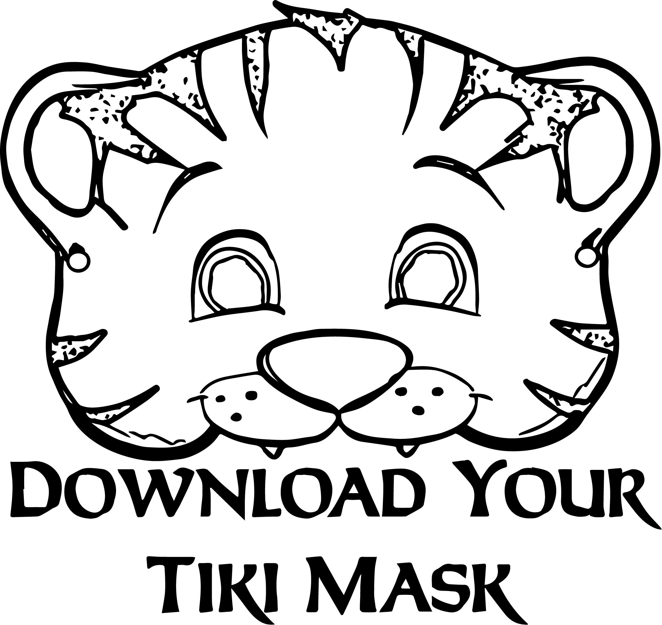 2219x2095 Coloring Pages Animal Masks Fresh Printable Elephant Mask