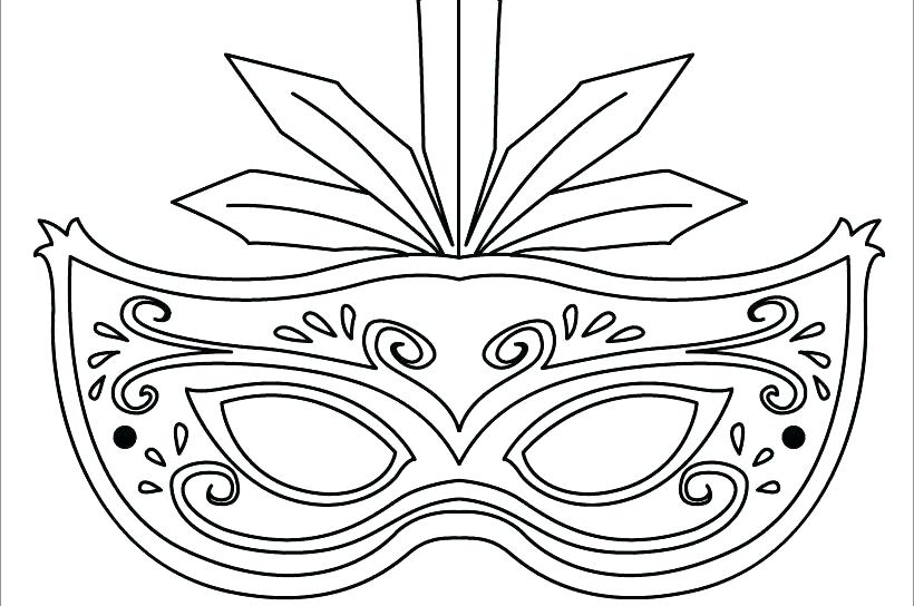 820x544 Lion Mask Coloring Page Bunny Face Coloring Page Animal Face Mask