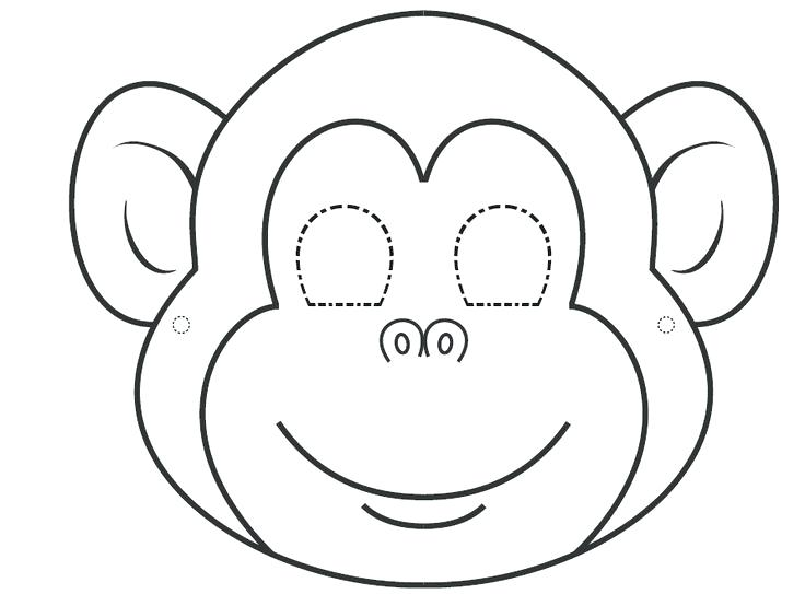 736x543 Monkey Face Coloring Page Smiley Face Coloring Page Smiley Face