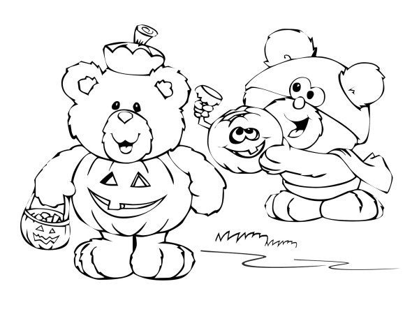 Animal Halloween Coloring Pages At Getdrawings Free Download