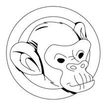 220x220 Jungle Animals Coloring Pages