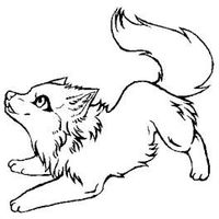 200x200 Animal Jam Arctic Wolf Coloring Pages For My Little Ones