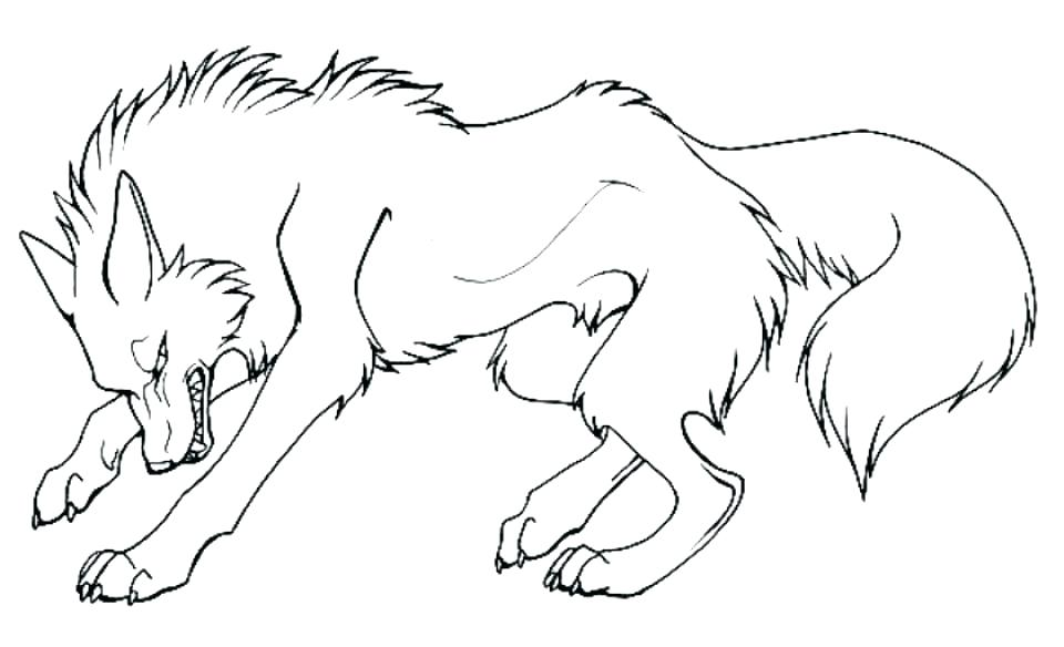 960x584 Coloring Pages Of A Wolf Wolf For Coloring Free Printable Wolf