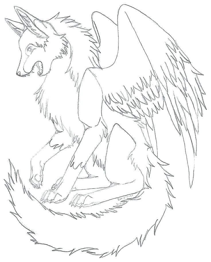 736x916 Coloring Pages Wolf Wolf Coloring Pages Arctic Wolf Coloring Page