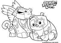 204x146 Animal Jam Coloring Pages