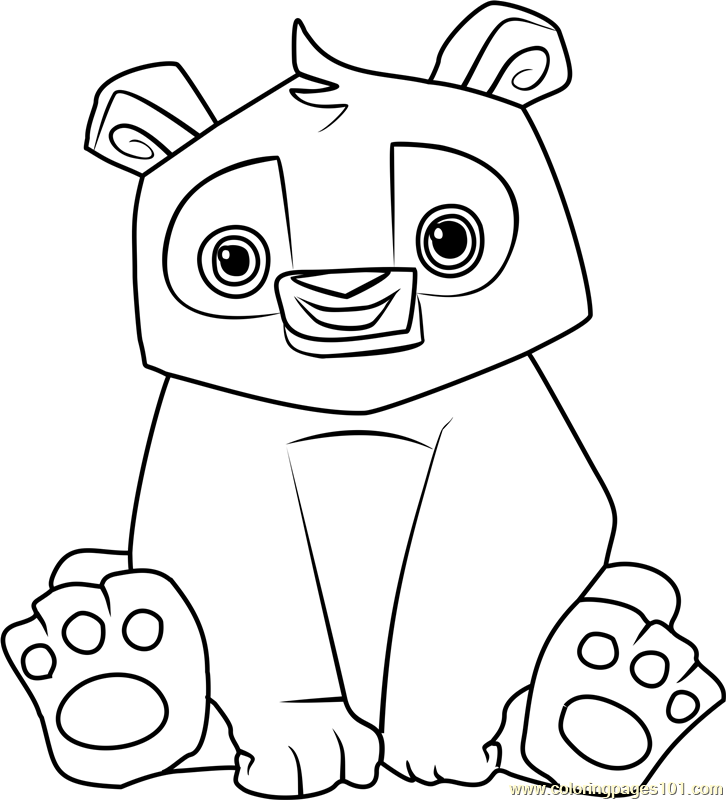 726x800 Animal Jam Coloring Pages