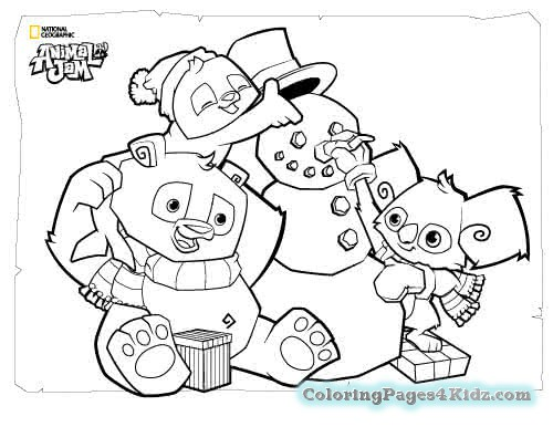 500x386 Animal Jam Coloring Pages Coloring Pages For Kids
