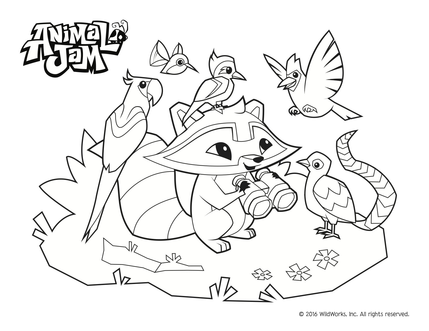 1650x1275 Animal Jam Coloring Pages! Celebrate Spring And The Environment