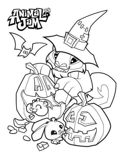 400x518 Animal Jam Coloring Pages