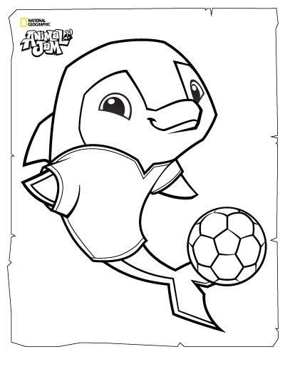 400x518 Animal Jam Coloring Pages The Daily Explorer Classroom