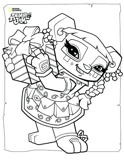 400x518 Animal Jam Coloring Pages Fox Animal Jam Coloring Pages The Daily