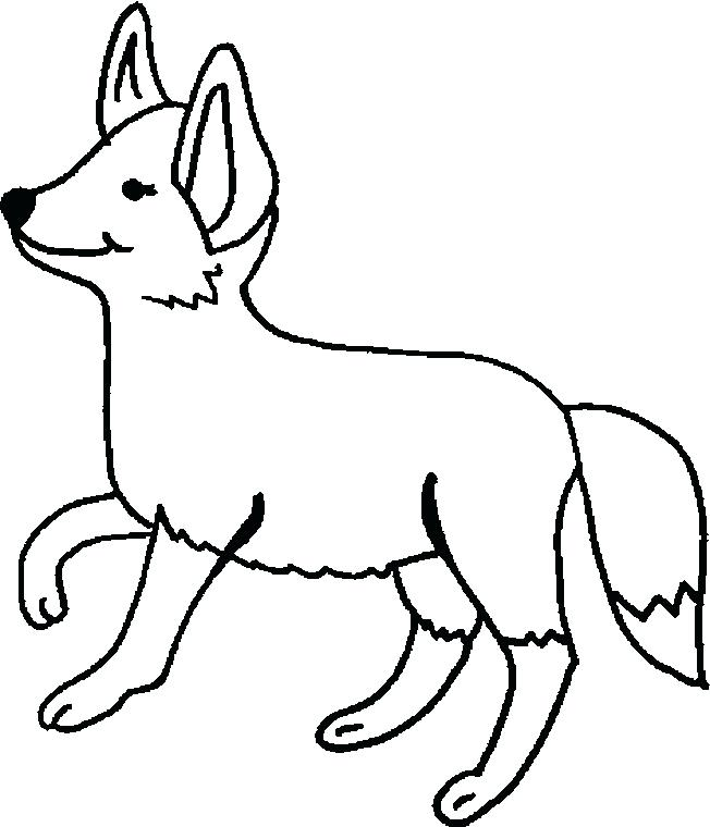 652x760 Fox Animal Coloring Pages Animal Jam Fox Coloring Pages Transasia
