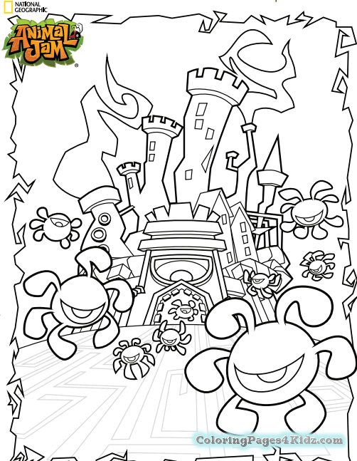 502x647 Arctic Wolf Animal Jam Coloring Pages Coloring Pages For Kids