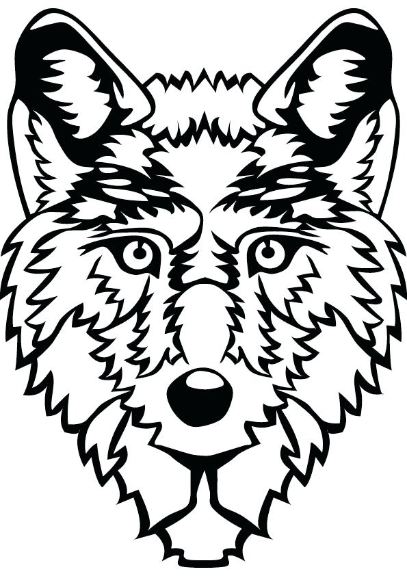 595x842 Wolf Coloring Pages Kids Wolf Animal Jam Arctic Wolf Coloring Page