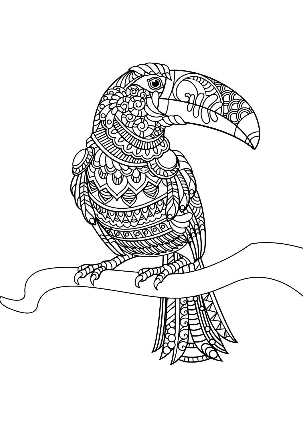 1059x1497 Animal Coloring Pages Pdf Mandalas, Colorear Y Mandalas Animales