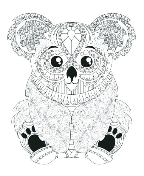 Animal Mandala Coloring Pages For Adults at GetDrawings ...
