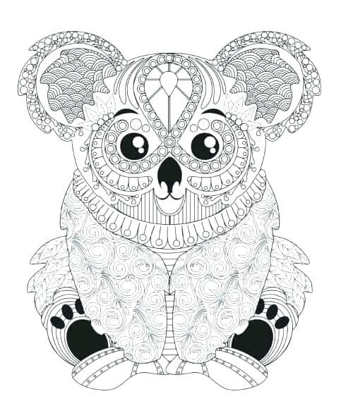 483x593 Animal Mandala Coloring Pages Free Printable Kids Coloring