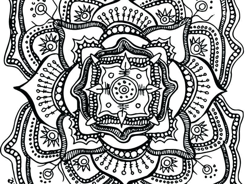 805x604 Free Printable Mandalas Coloring Pages Adults Printable Animal