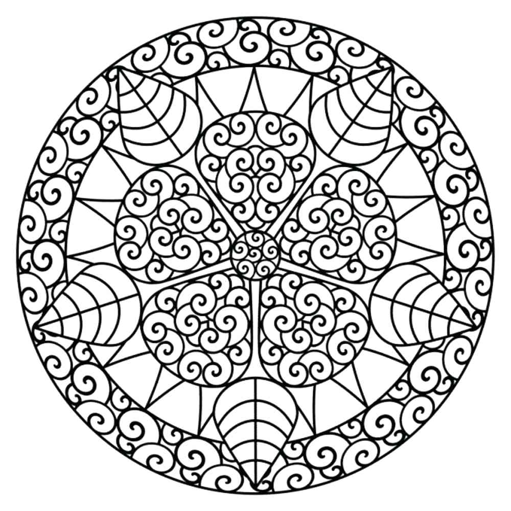 1000x1000 Fresh Free Printable Mandala Coloring Pages For Adults Gallery