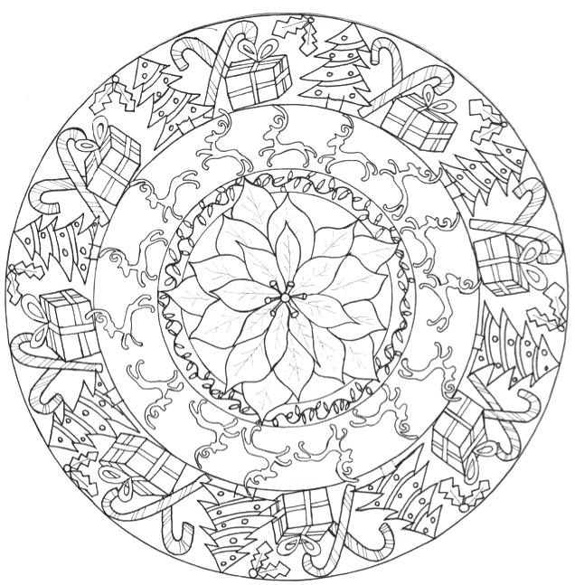 636x647 Mandala Coloring Pages For Adults Mandala Coloring Pages Animals