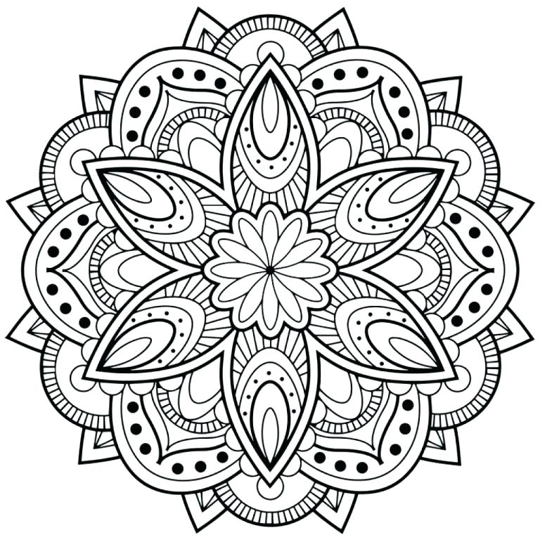 Animal Mandala Coloring Pages For Adults At Getdrawings Free