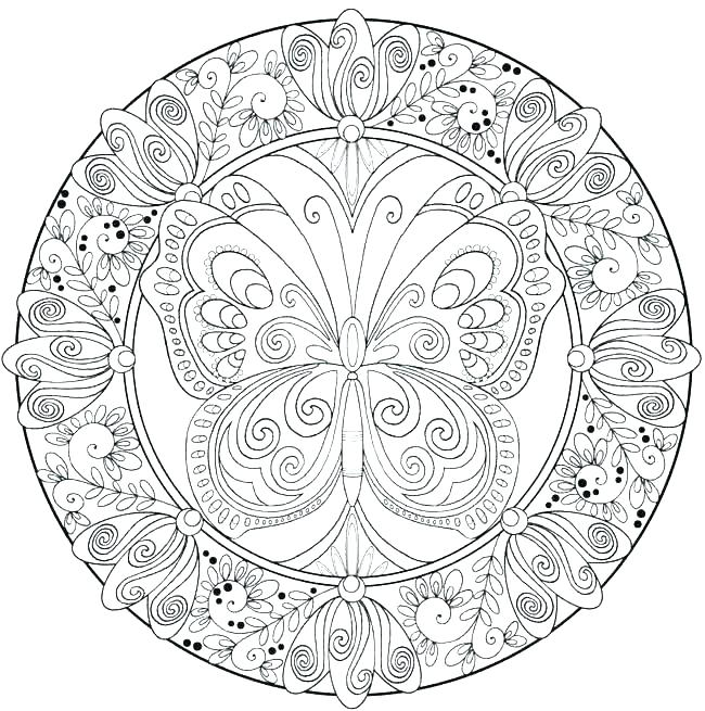 Animal Mandala Coloring Pages Free Printable at GetDrawings ...