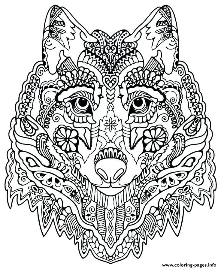 Animal Mandala Coloring Pages Free Printable at GetDrawings.com ...