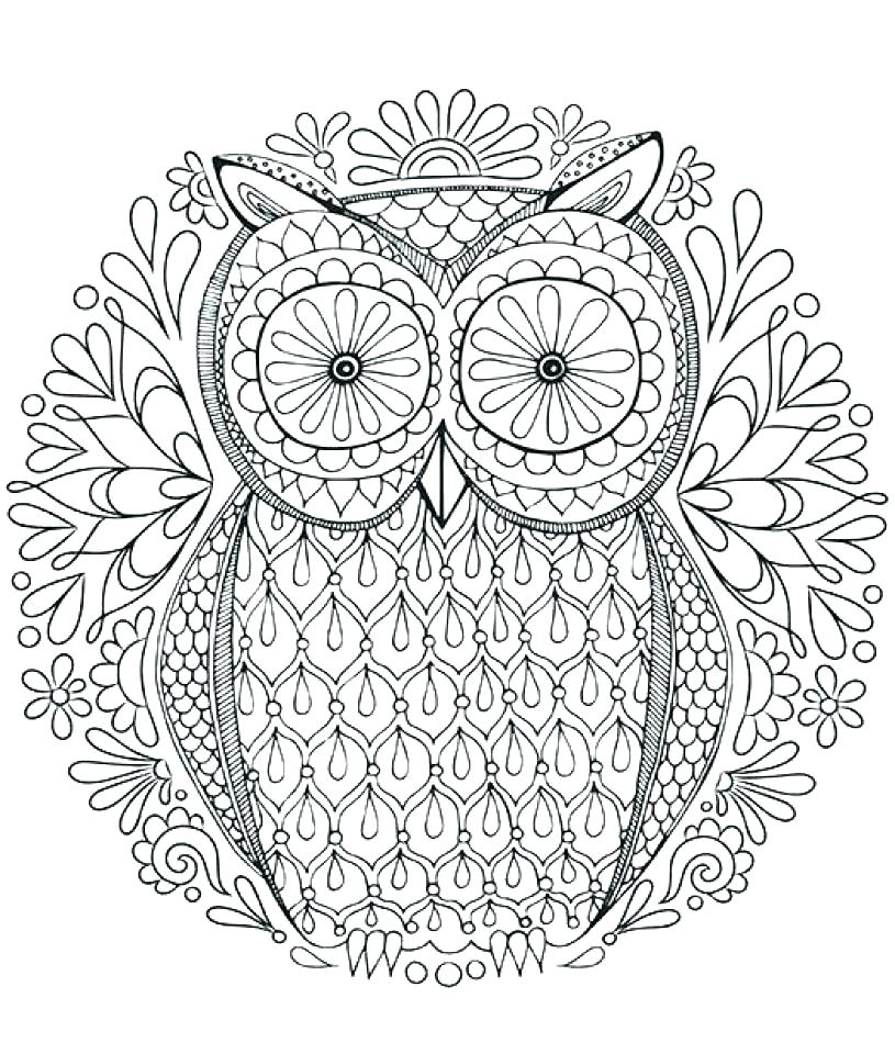 Animal Mandala Coloring Pages Free Printable At Getdrawings Free