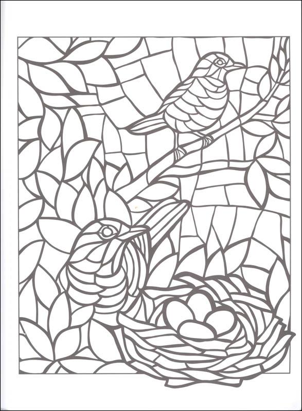 587x800 Animal Mosaic Coloring Pages Animal Mosaics Creative Haven
