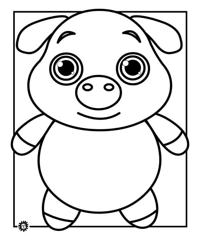 Animal Outline Coloring Pages