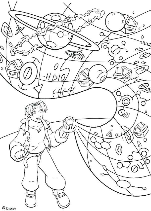 607x850 Planet Coloring Page Beautiful Solar System Color Pages Online