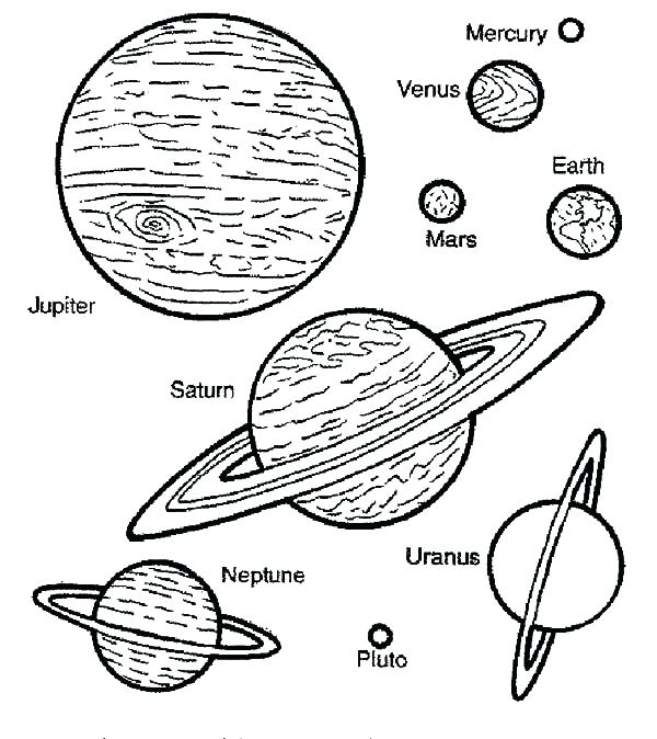 600x674 Planet Coloring Page Mars The Planet In Solar System Planet