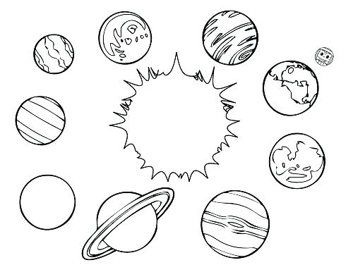 500x386 Planet Coloring Page Planet Coloring Pages Planet Coloring Pages