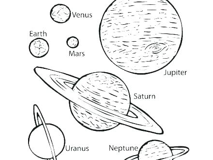 440x330 Solar System Coloring Sheet Solar System Coloring Pages Planets
