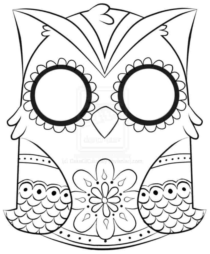 Animal Skull Coloring Pages