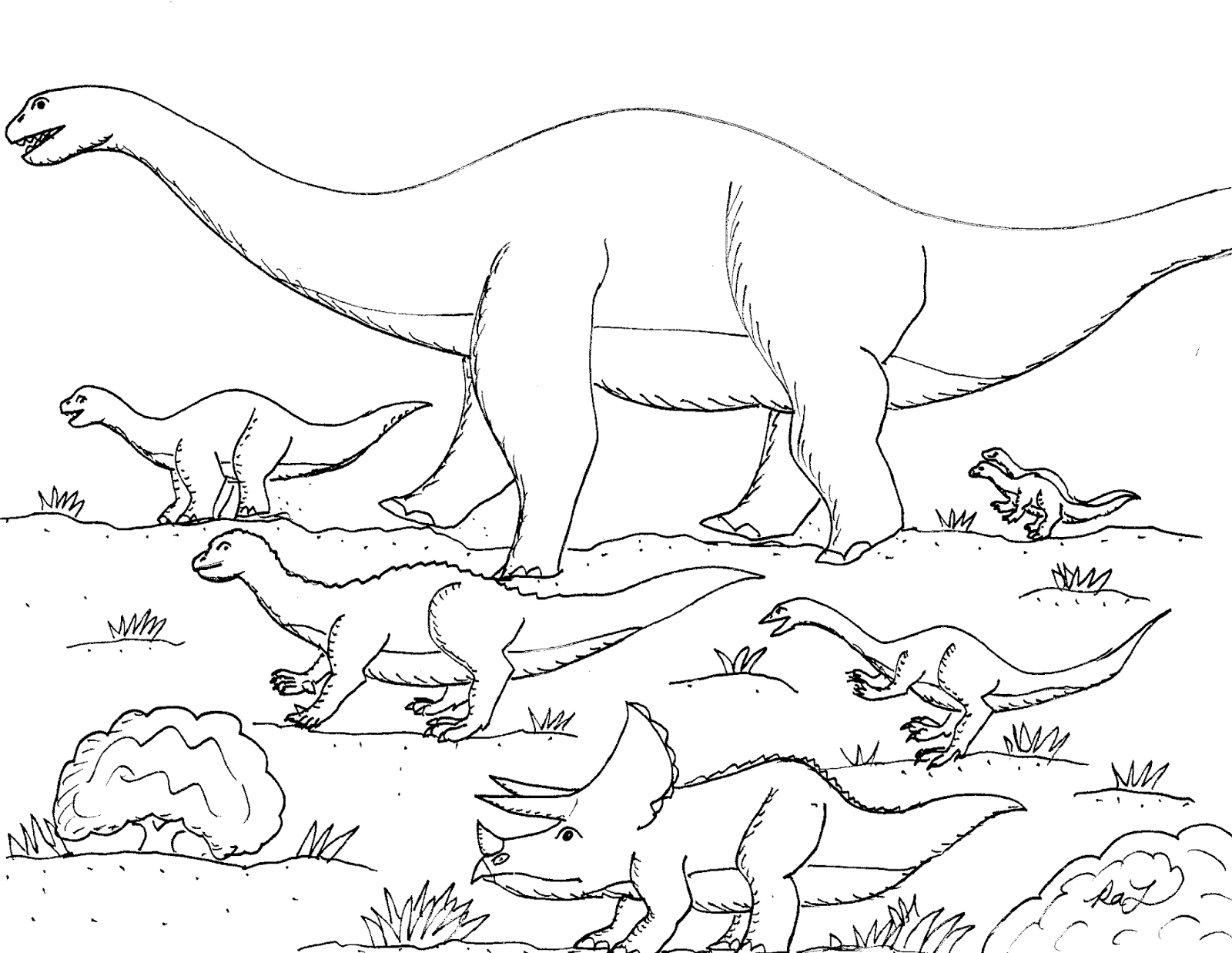 Animal Track Coloring Pages at GetDrawings.com | Free for ...