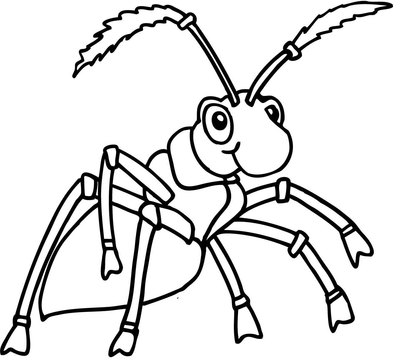 1296x1183 Ant Coloring Pages And Classroom Activities Train Track Ants Page
