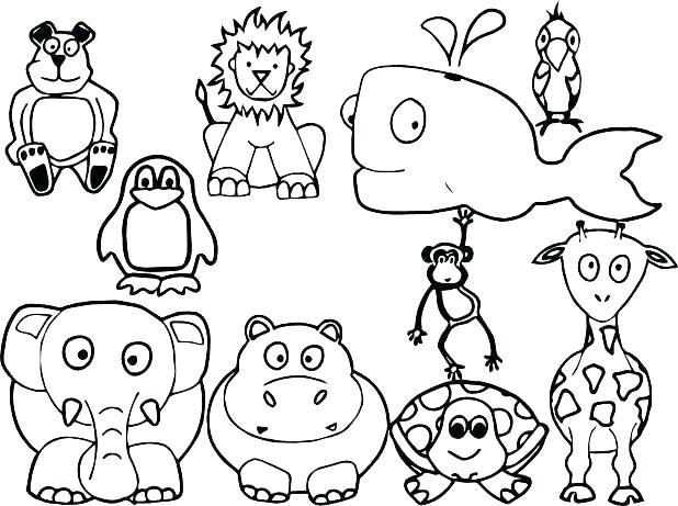 618x461 All Coloring Pages Of Animals Animals Coloring Pages Coloring