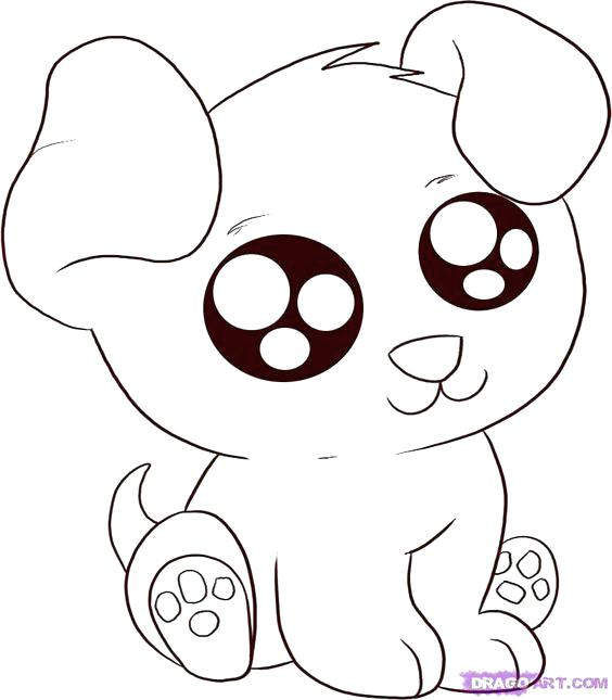 564x645 Cute Animals Coloring Pages Anime Animals Animal Coloring Pages